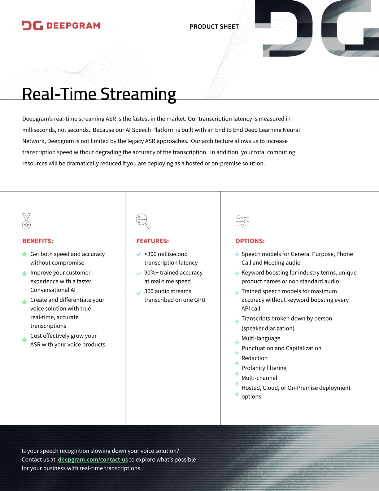 Real-time Streaming